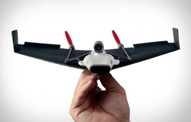 Технологичные бумажные самолетики XXI века, управляемые со смартфона