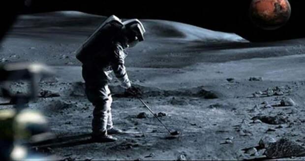 Гольф на Луне