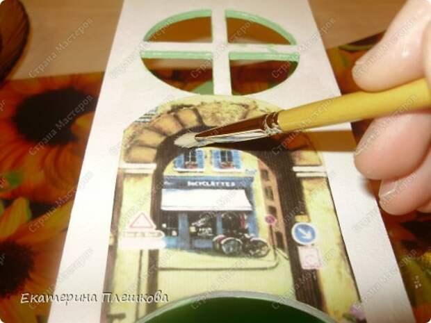 Декор предметов Мастер-класс 8 марта День рождения Декупаж МК Чайного домика Бумага Дерево Крупа фото 14
