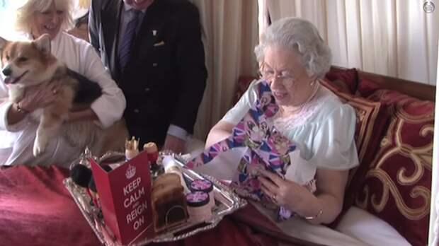 День матери в Букингемском дворце