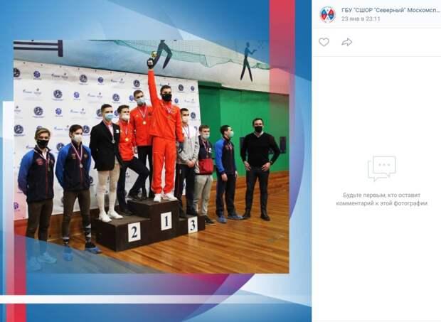 Пятиборец из Северного победил в «Зимнем турнире»