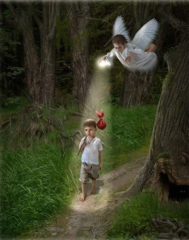 Интуиция – это и есть наш Ангел-хранитель