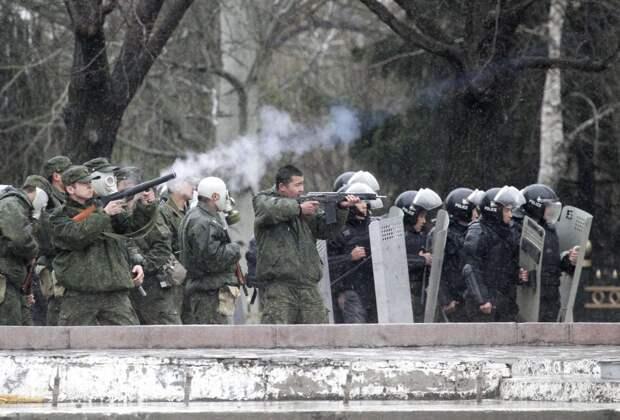 """Беспорядки в Киргизии: """"в ожидании Годо"""""""