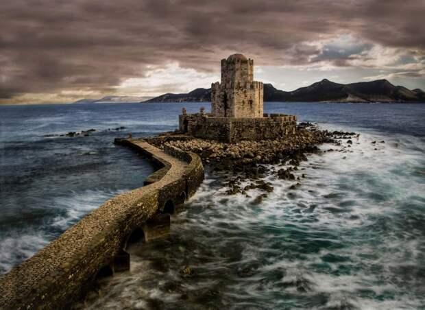 Замок Метони, Греция.