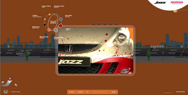 JazzRussia.ru: очередной сайт для Honda от Red Keds