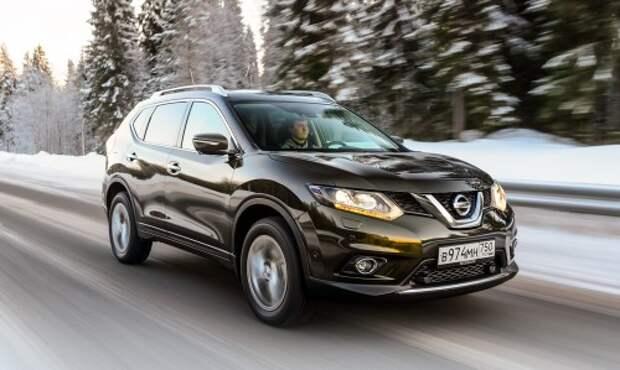 Тест нового Nissan X-Trail: фигурное катание
