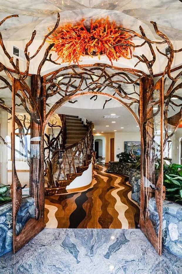 Каждая деталь интерьера достойна внимания oregon, властелин колец, дизайн, дом, мир, толкин, фото