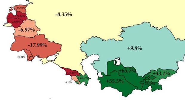 USSR-population-chnage-89-18