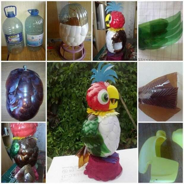 Вторая жизнь пластиковых бутылок (21 фото)