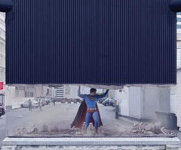 Супермен переквалифицировался в атланта