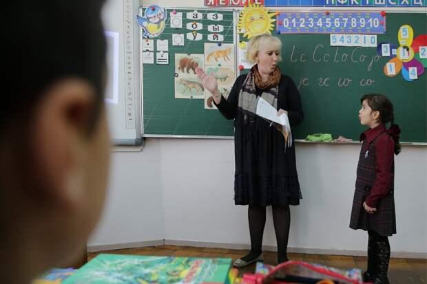 Как сирийские дети учатся в России