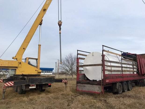 Станцию очистки воды начали строить в Белореченском районе