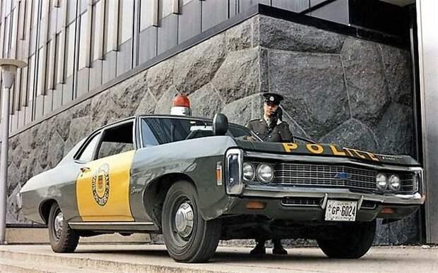 Канадские копы… СССР, авто, автоистория, гибдд, ливрея, полицейский автомобилиь, полиция
