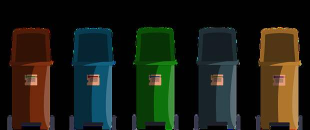 Мусорный Ящик, Сортировки Отходов, Отходы, Мусор