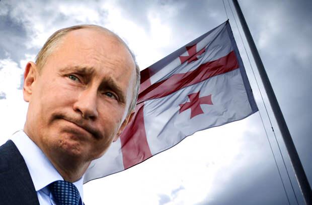 Грузинский телеведущий нажил проблем после оскорбления Путина в эфире