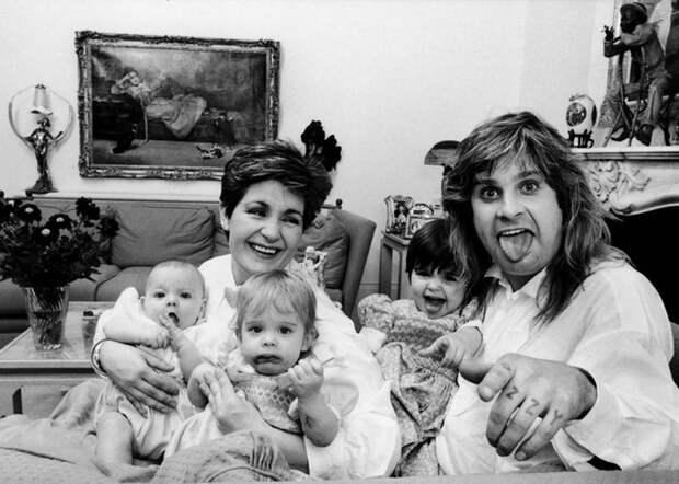 Беспокойная семейка: «Король тьмы» Оззи Осборн и его светлая любовь – несравненная Шерон
