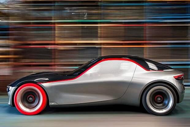 Opel GT Concept откроет глаза на современное искусство