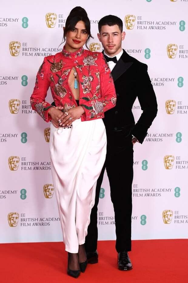 Приянка Чопра и Ник Джонас, Рене Зеллвегер, Хью Грант и другие на премии BAFTA-2021