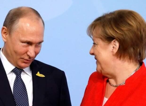 Прощальный визит Меркель в Россию оказался смазанным
