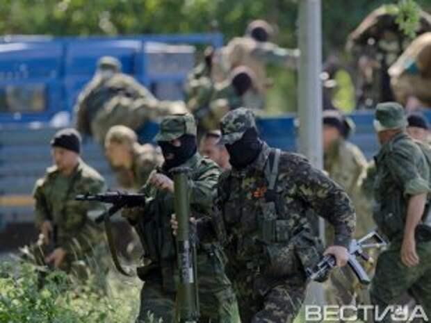 Террористы в Донецке пытаются вырваться из окружения