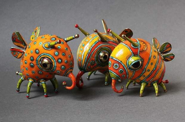 фарфоровые статуэтки животных-4