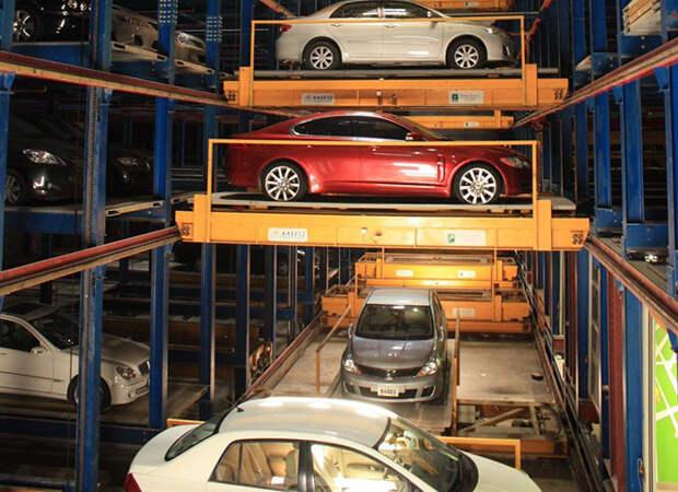 7 самых интересных автоматизированных паркингов мира