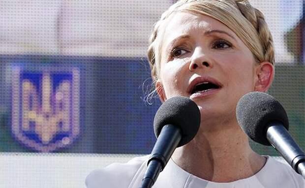 Тимошенко: нужно отправить в отставку правительство Украины