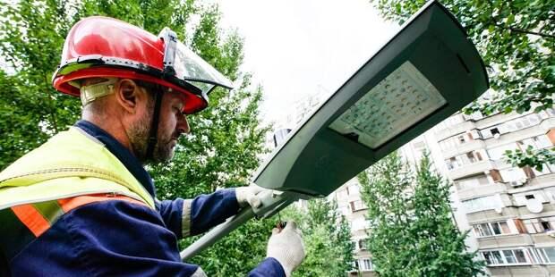 Работы по установке освещения на улице Приорова завершат до декабря