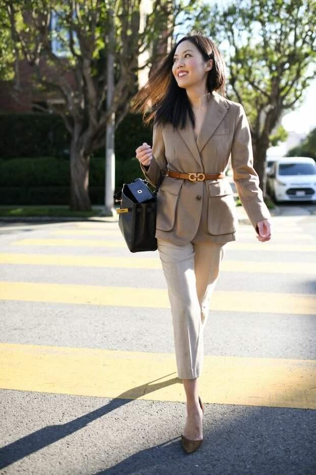Деловой стиль: элегантные и утонченные идеи весенних образов для бизнес-леди 40+