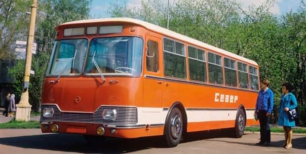 ЛиАЗ 677А «Север» предсерийный история, советские автобусы, транспорт