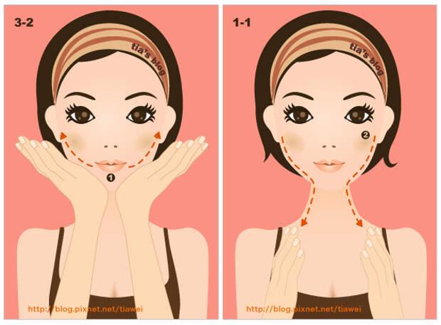 3-2. Упражнение на формирование линии губ