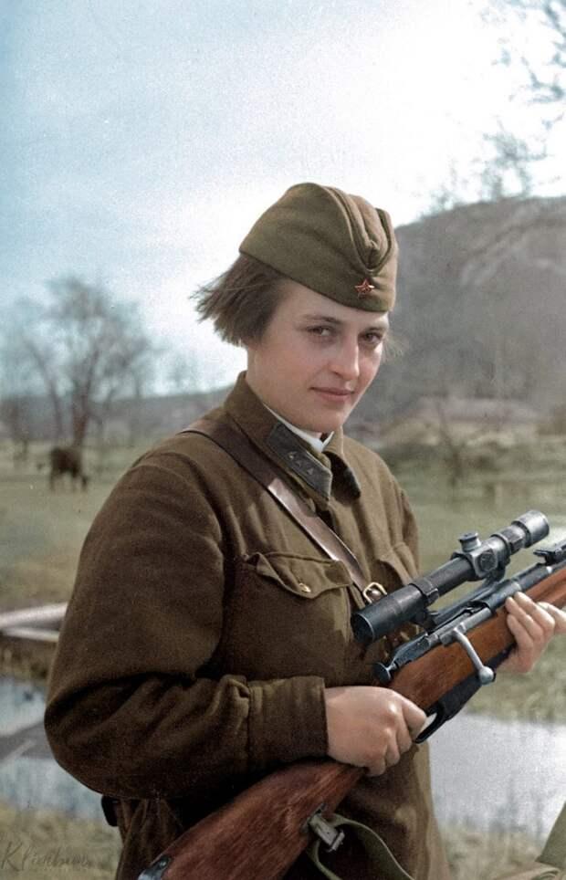 «Леди Смерть»: за что американцы так прозвали советскую женщину?