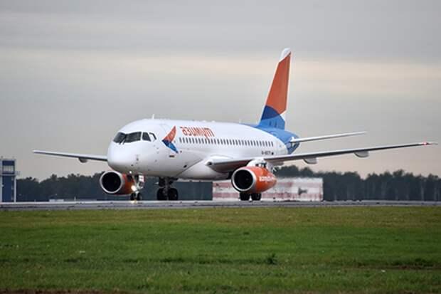 Самолет авиакомпании «Азимут»
