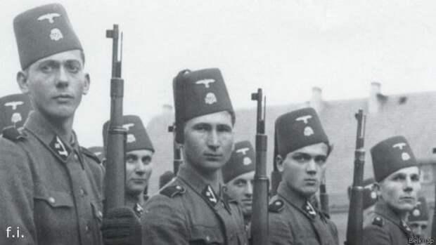"""Мусульмане в """"Ваффен-СС"""""""