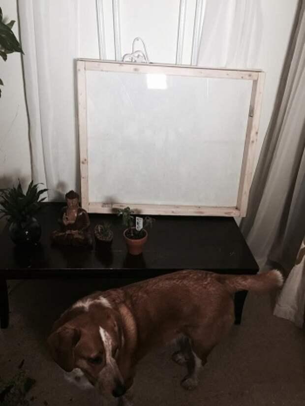 Фальшивое окно - светильник (Diy)