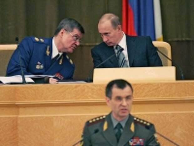 ПРАВО.RU: Путин предложил Совфеду оставить Чайку генпрокурором еще на пять лет