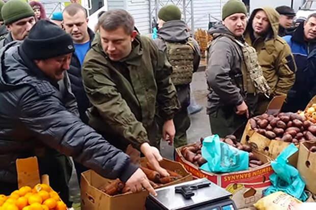Как Захарченко проверил точность рыночных весов