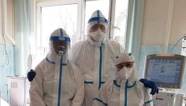 Более 400 человек с коронавирусом находятся на лечении в больнице Мытищ