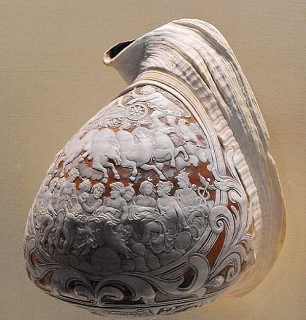 Искусство резьбы по ракушкам