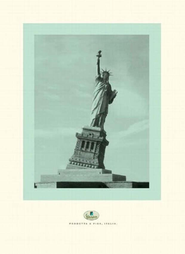 Статуя Свободы а-ля Пизанская башня