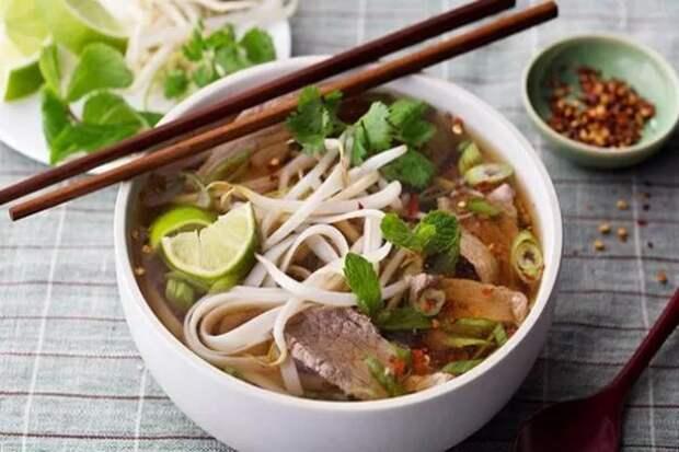 Вьетнамский суп Фо Бо. Фото из открытых источников