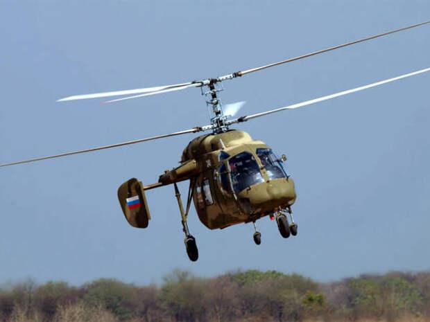 «Вертолеты России» начали проект по выпуску Ка-226Т в Индии