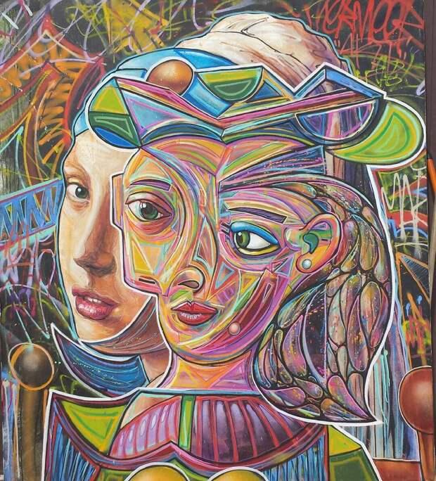 Лучшие работы, представленные на конкурсе Urban Art Fair