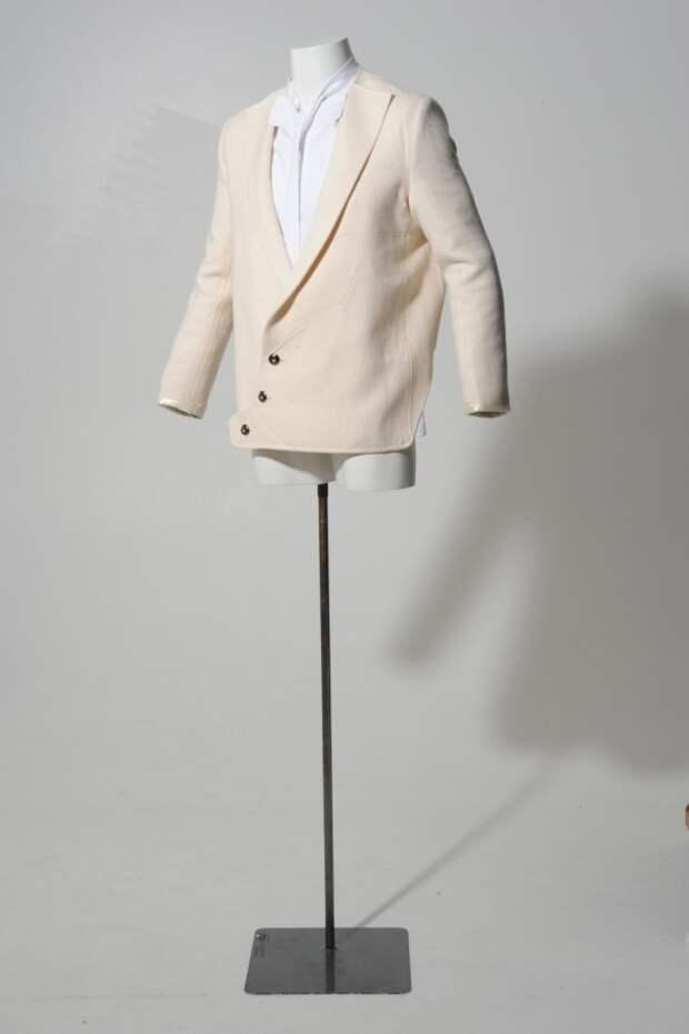 Мужской пиджак (безотходный крой)