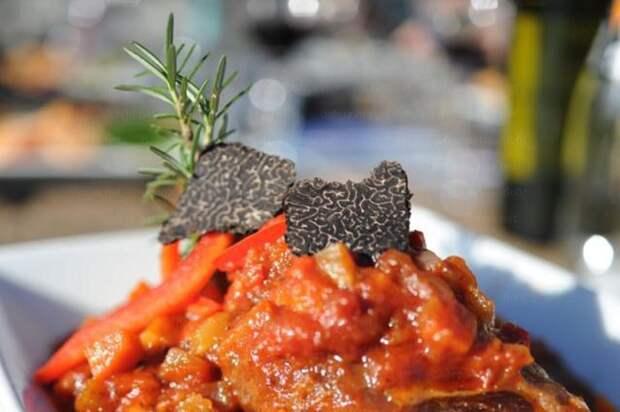 Салат из кабачковой икры с трюфелем дорого, еда, трюфель