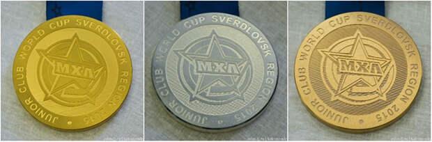 Как делают медали для чемпионов