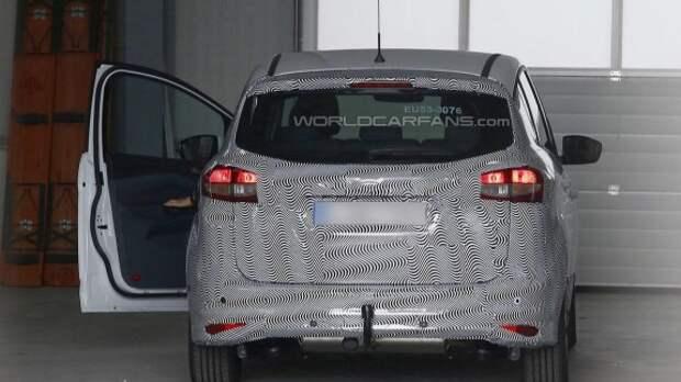 Ford C-Max обновится так же, как Focus