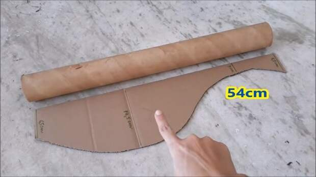 Обычная картонная втулка может стать основой для интересной мебели в вашем доме