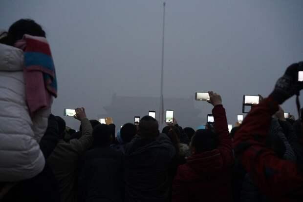 Портрет задыхающегося Пекина
