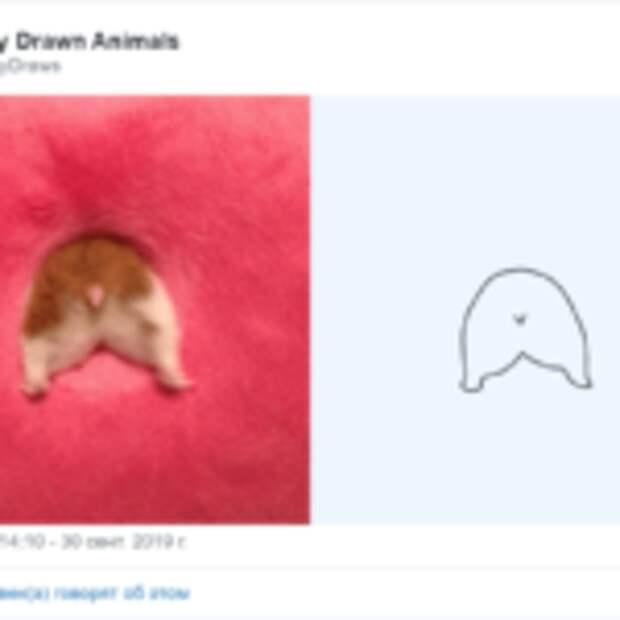 Художники нарисовали животных так плохо, что даже хорошо